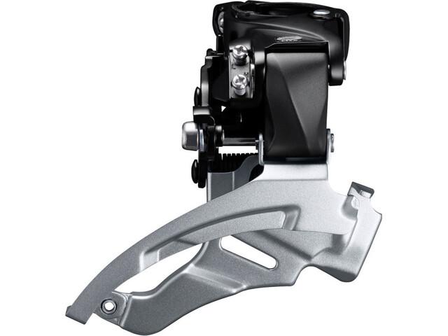 Shimano Altus FD-M2000 Forskifter 3x9-speed Down Swing klemme høj sort/sølv (2019) | Front derailleur
